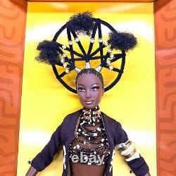 Byron Lars Treasures of Africa MOJA Barbie NRFB 2001Collector's Edition
