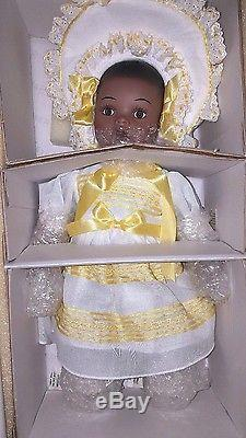 COLLECTIBLE CONCEPTS SARALEE African American 16 Porcelain Doll RARE