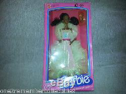 CRYSTAL BARBIE DOLL African American 1983 MATTEL #4859 Ages 3+ Rare VINTAGE New