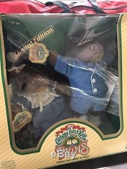 Cabbage Patch African American Pacifier Twins 1985