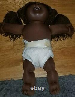 Cabbage patch african american girl head mold #19 as is no box