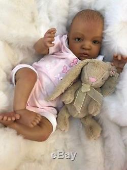 Cherish Dolls Reborn Baby Doll Girl Shyann 20 Size Mixed Race African American