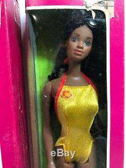 Christie & Ken Barbie Dolls 1981 African American Sunsational Malibu Dolls Nib