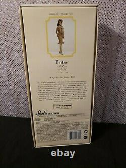 City Chic Suit Aa Silkstone Barbie Doll 2015 Gold Label Dgw57 Mattel Nrfb
