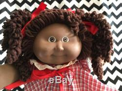 coleco african american cabbage patch kid popcorn hair hm15