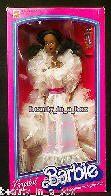 Crystal AA African American Barbie Doll 1983 1984 #4859