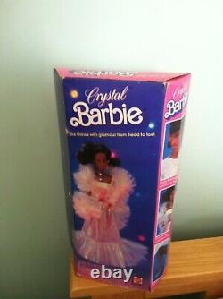 Crystal AA BARBIE DOLL 1983 MATTEL #4859 NIB VGC