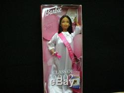 DOLL NIB BARBIE Class of 2002 Special Edition African American 74299505034
