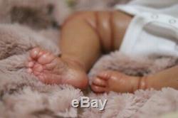 Ethnic/ Aa / Biracial Reborn Boo Boo Baby Girl Doll Fei Yen