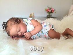 Ethnic Realborn Ana Asleep by Bountiful Baby Reborn Doll
