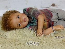 Ethnic Reborn AA Caucasian Mixed Toddler Girl Jamina by Petra Seiffert