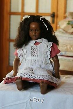 FATOU Annette Himstedt Black Doll Barefoot Children Series NO Box