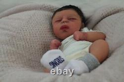 FULL BODY SILICONE BABY Boy Micro preemie DRINK AND WET