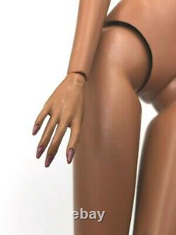 Fashion Royalty Integrity Doll Agnes Ocean Drive FR 6.0 Nail Hands Body FR Black