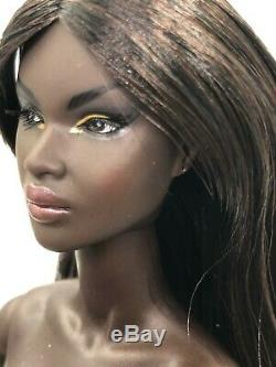 Fashion Royalty Integrity Toys NU. Face Like No Other Nadja Rhymes Nude Doll