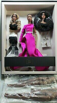 Fashion Royalty W Club Faces of Adele & 2 body completer pack gift set NRFB