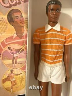 Free Moving Curtis Black AA Ken Doll. 1974 Mattel. Original Clothes Vintage