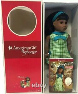 Free ship! American Girl 18 MELODY Doll with Book, New In Box, Dark Skin