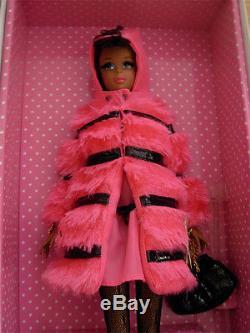 Fuchsia N Fur Francie Doll NRFB Silkstone Exclusive African-American & shipper