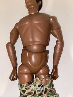 GI JOE Action Doll Hasbro Original Vintage 1964 12 Figure African American