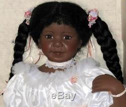 Gadco Great American Doll Company 28 Jasmine African American Ballet Doll