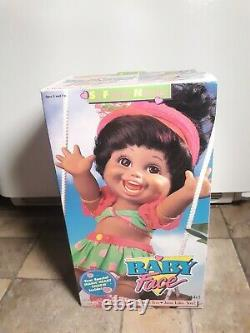 Galoob 1990 Baby Face So Funny Natalie Black African American Doll