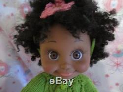 Galoob Baby Face Doll Aa African American Ooak So Shy Sherri. New Outfit. Nice