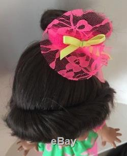 Galoob Baby Face Doll So Funny Natalie MOOB African American AA EUC RARE & Box