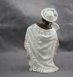 Gebruder Heubach Bisque Figurine African American Black