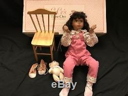 Georgetown Collection Cece's Time Out African American Porcelain Doll 1991