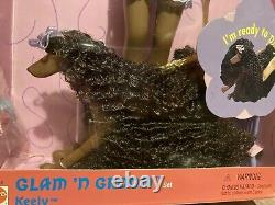 Glam N Groom Christie Doll & Keely Dog Set Friend Of Barbie 26252 Mattel 1999