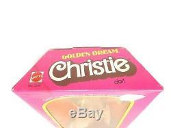 Golden Dream Christie Doll Mattel 1980 #3249 NRFB