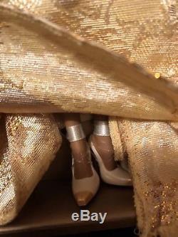 Golden Gala African American Silkstone Barbie2009 ConventionGold Label NIB