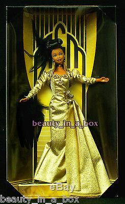 Golden Hollywood Barbie Doll MGM 75 Years Film AA African American FAO Schwarz