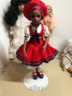 Goodreau American BJD 16 Vinyl Doll African American-RARE