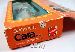 Gorgeous Vintage Quick Curl Cara Doll, Canadian Box, NRFB Black African-American