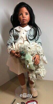 Gotz Artist Doll Marita by Hildegard Gunzel 28 Vinyl African American Ethnic