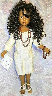 Gotz Aya Joke Grobben Rare African American Doll, 27.5