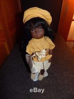Gotz Ricarda 15 Sylvia Natterer Doll African American German With Hand Tags