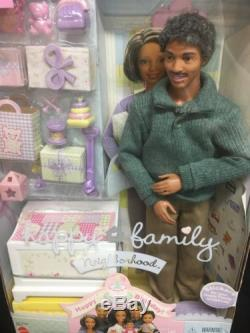 Grandpa Happy Family African American Barbie Doll Grandfather NRFB MINT