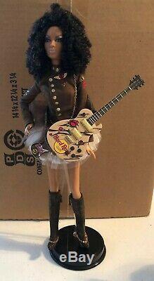 HARD ROCK CAFE Barbie Doll 2007 # K7946 African American EUC