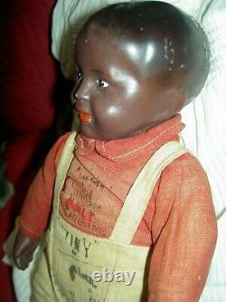 HORSMAN, composition character boy doll, circa 1910, all original withautographs