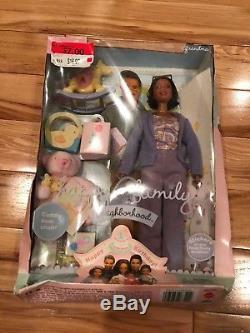 Happy Family Barbie Grandma African American 2003 NRFB #C4382 MAJOR BOX DAMAGE