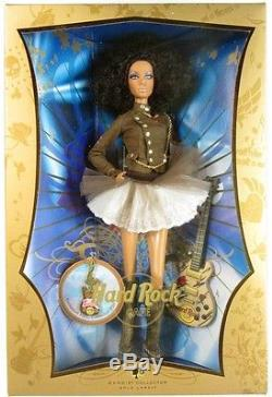 Hard Rock Cafe African American Barbie Doll (Gold Label) (NEW)