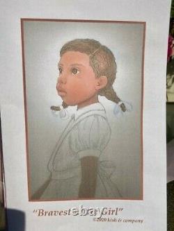 Helen Kish 2020 UFDC African American (AA) Bravest Little Girl Doll Signed