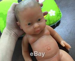 IVITA 16-inch Full Silicone Reborn Baby BOY Dolls 2KG Realistic Silicone Doll