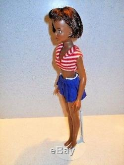 Ideal VHTF Vintage BLACK Grown Up TAMMY DOLL in ORIGINAL Outfit African American