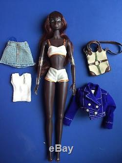 Integrity Fashion Royalty 12 African American Doll No Box