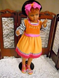 Jan McLean Doll Grace, 293/3500 COA, MINT, 21 Tall, African American, LE
