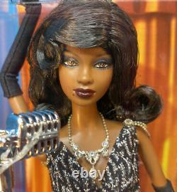 Jazz Baby Black Barbie Doll AA Diva NRFB New! CABARET Model Muse Wigs Vanity